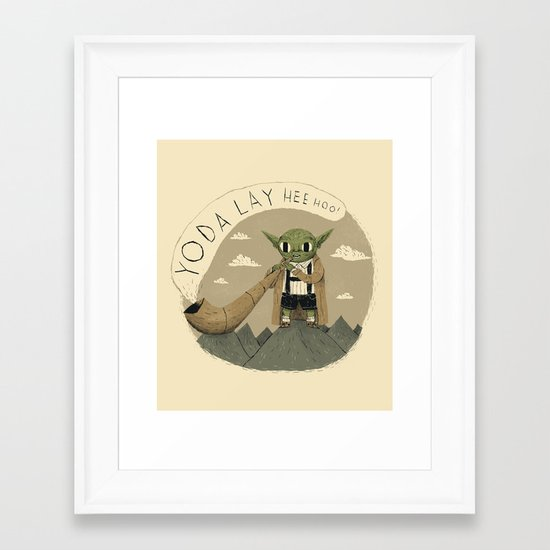 yodaling  Framed Art Print