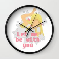 Let Me Be With You Wall Clock