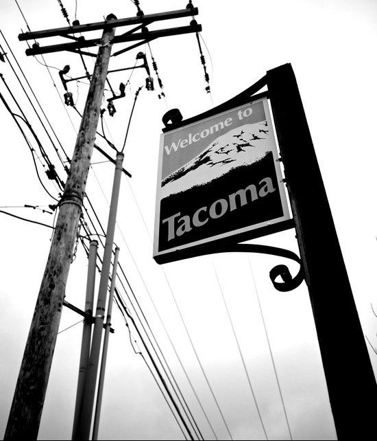 Welcome to Tacoma Art Print
