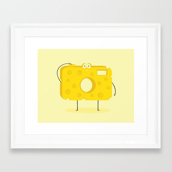 Say CHEESE Framed Art Print