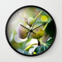 Figs Wall Clock