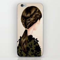 Twisted Ponytail  iPhone & iPod Skin