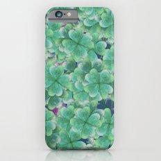 Four Leaf Clover  iPhone 6 Slim Case