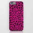 Neon Pink Leopard iPhone & iPod Case