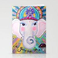 Jai Ganesha  Stationery Cards