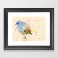 Tweet! Framed Art Print