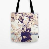 Cherry Tree In Bloom Tote Bag