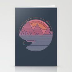 The Mountains Are Callin… Stationery Cards