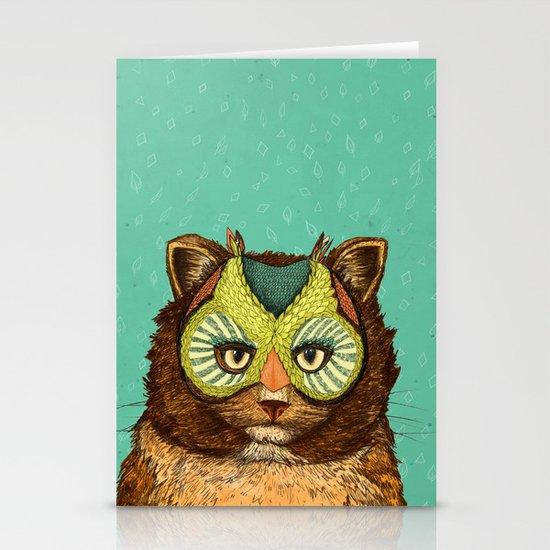 OwlCat Stationery Card