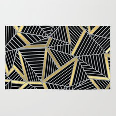 Ab 2 Silver and Gold Rug