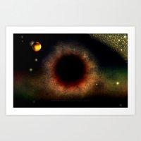BLACK HOLE SUN - 047 Art Print