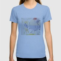 Cyclical Womens Fitted Tee Athletic Blue SMALL