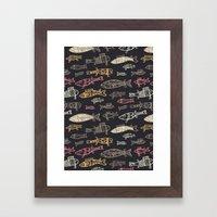 Kalat pattern Framed Art Print