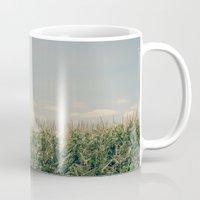 Campos de maíz Mug