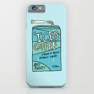 Iced Coffee Juicebox iPhone 6 Slim Case