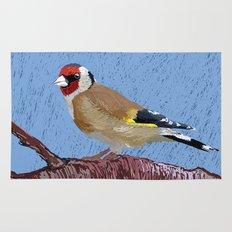 European Goldfinch Rug
