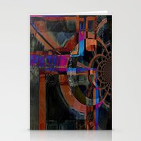 Rising From Darkness Abs… Stationery Cards