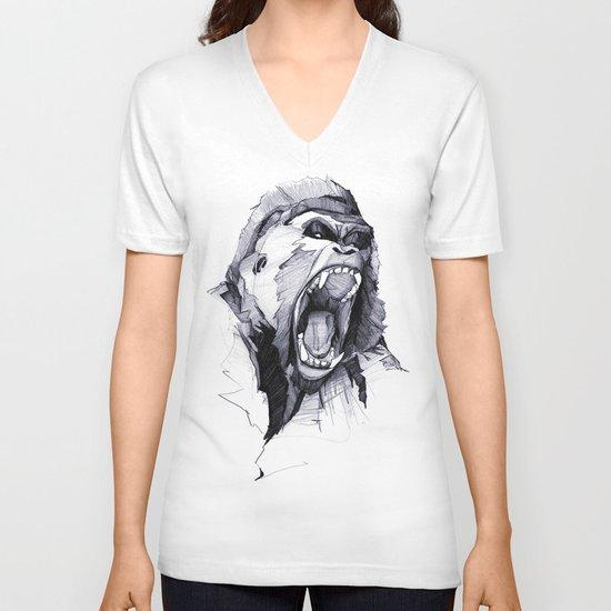 Wild Rage V-neck T-shirt