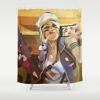 Tank Girl Shower Curtain
