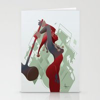 PONDERING Stationery Cards