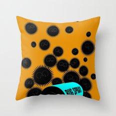 Pest Control Throw Pillow