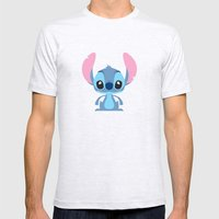 Stitch  Mens Fitted Tee Ash Grey SMALL