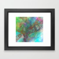 Magic Touch Framed Art Print