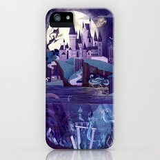 Never a Quiet Year at Hogwarts iPhone (5, 5s) Slim Case