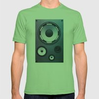 Stereo Sound Mens Fitted Tee Grass SMALL
