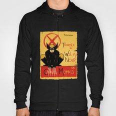 Wolvy the black cat Hoody