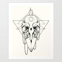 The Mystic #2 Art Print