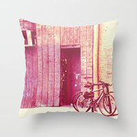 Pedal Throw Pillow