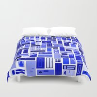Doors - Blues Duvet Cover