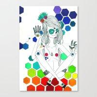 Phantasmagorique Canvas Print