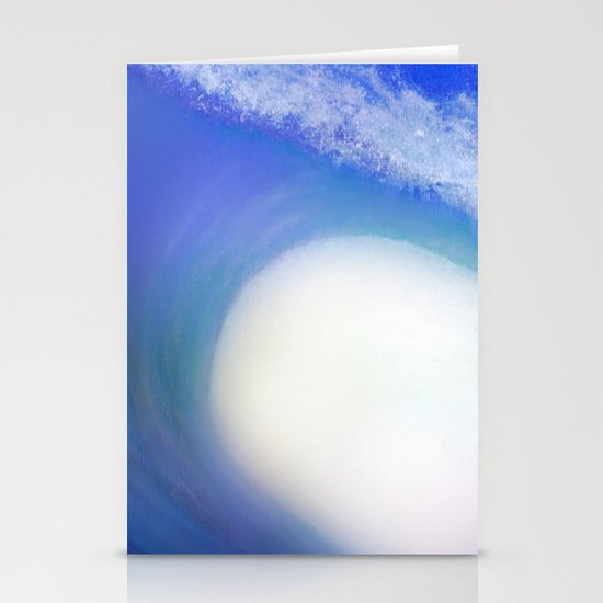 Splash Wave Stationery Card