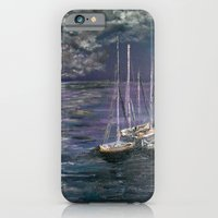 By the Light of the Silvery Moon iPhone 6 Slim Case