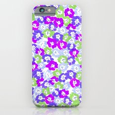 Morning Glory - Violet Multi iPhone 6s Slim Case