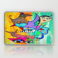 AIKIDO GIRL Laptop & iPad Skin