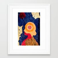 Mind Map II Framed Art Print