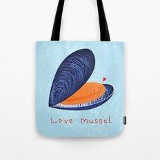 Love Mussel Tote Bag