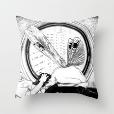 asc 451 - L'amante avide (Hungry mistress) Throw Pillow