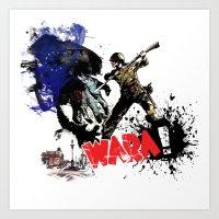 Poland Wara! Art Print