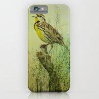 The Meadow Lark Sings iPhone 6 Slim Case