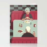 Day Trippers #11 - Diner Stationery Cards