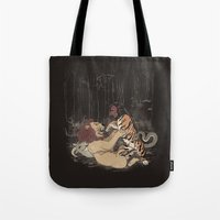 The Chimera Fight Tote Bag