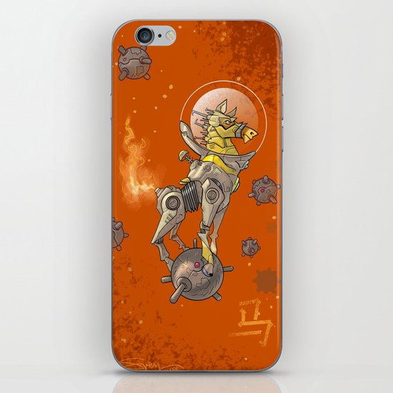 Astro Zodiac Force 07: Horse iPhone & iPod Skin