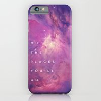 iPhone & iPod Case featuring The Places You'll Go II by Galaxy Eyes