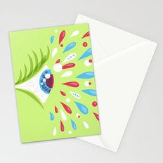 Psychedelic eye Stationery Cards