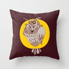 Kaepora Throw Pillow