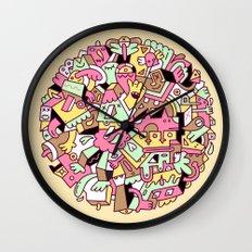 Mumble Wall Clock